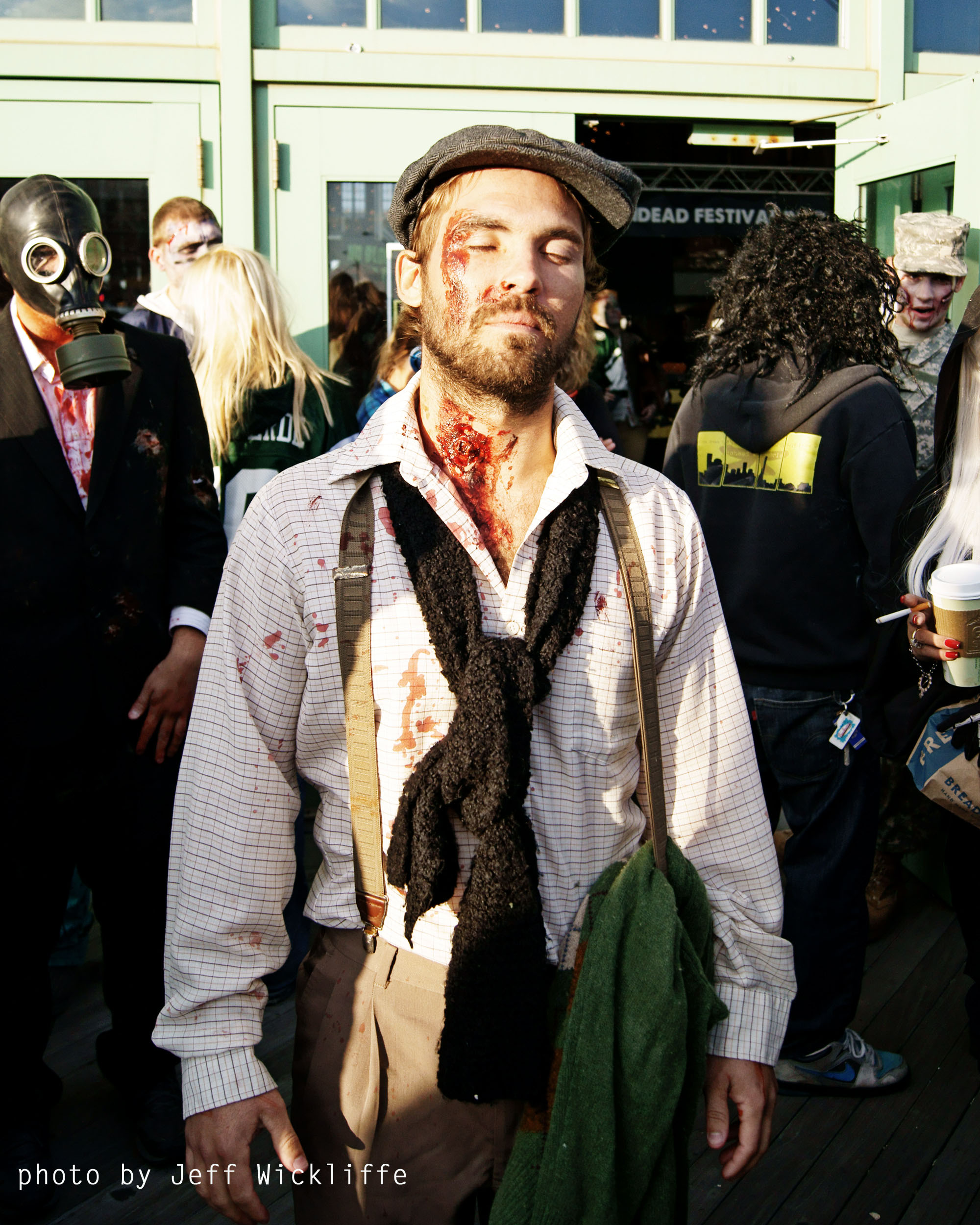 The Undead Seek Brains at Fourth Annual Zombie Walk in Asbury Park ...