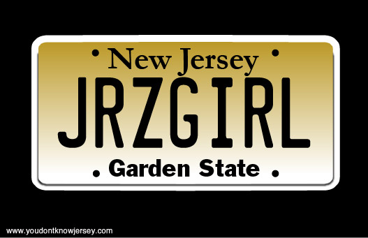 New Jersey License Plates We D Like To See You Don T