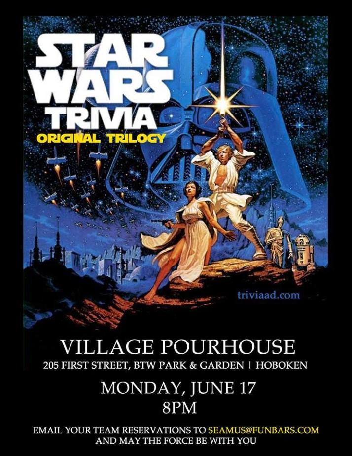 Star Wars Trivia Hoboken
