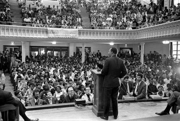 MLK Speaking at Southside HS Newark