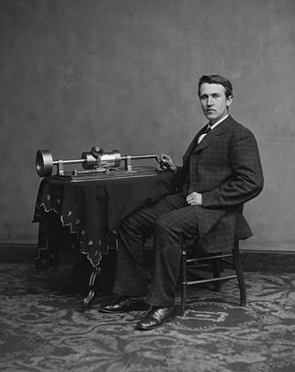 Edison_and_phonograph