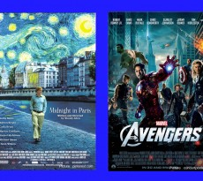 Avengers & midnight-in-paris-main_pic