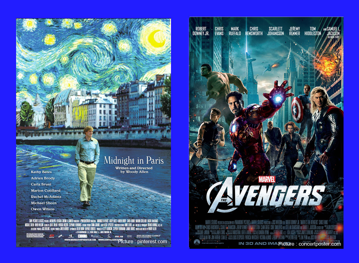 Avengers & midnight-in-paris-main_pic