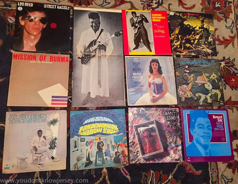 New Jersey Musicians With Their Record Collections Conor