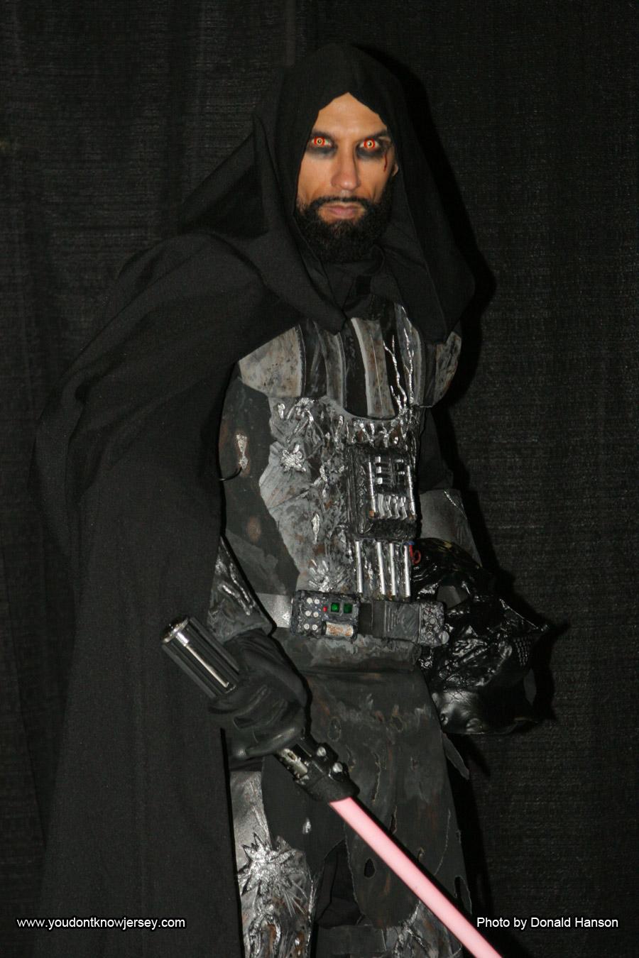 Darth Vader melted