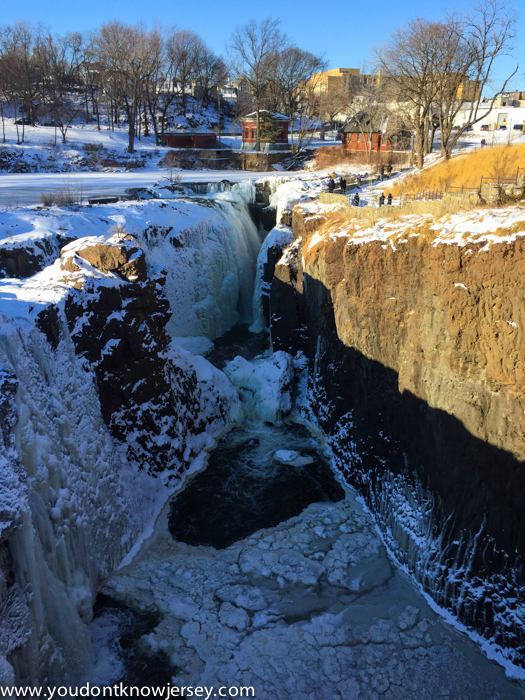 Has On The Great Falls Of Paterson This Week It Was A Sight To Behold In Single Digit Temperatures We Endured Glad That S Over For Few Days Now