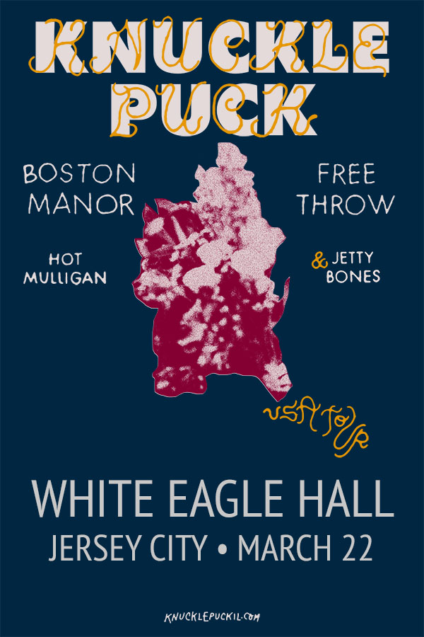 Ticket Giveaway – Knuckle Puck at White Eagle Hall on March